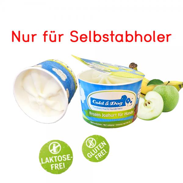 Frozen Joghurt mit Apfel & Banane 90ml