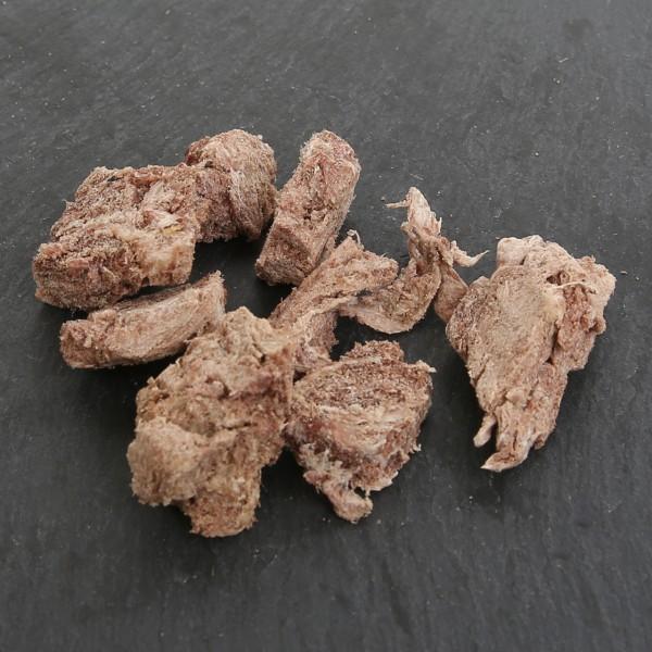 Straußenfleisch, gefriergetrocknet 50g