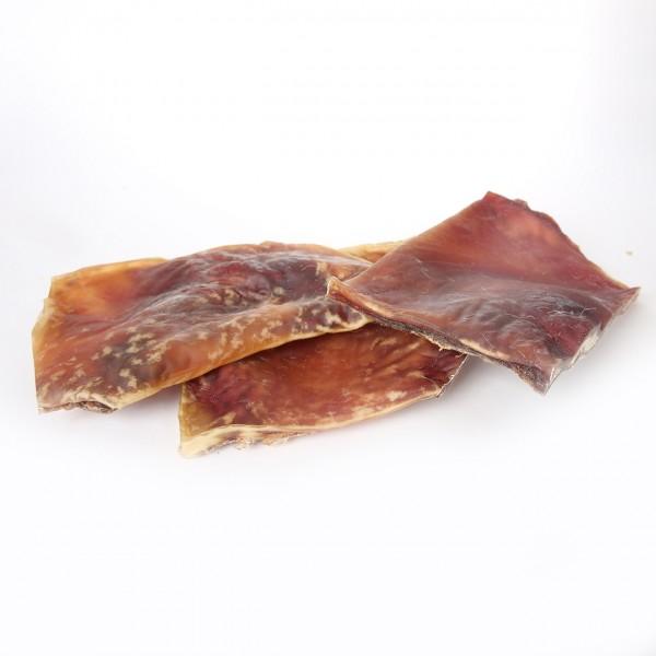 Rinderkopfhautplatte ohne Fell extra groß und dick